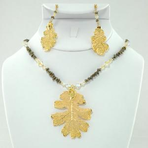The Chloe Medallion Necklace & Earring Set