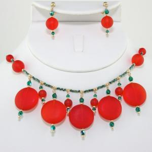 The Noel Necklace & Earring Set