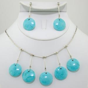 The Twiggy Necklace & Earring Set