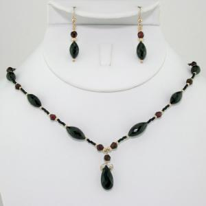 The Twilight Petite  Necklace & Earring Set