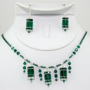 The Frances Necklace & Earring Set