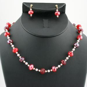 The Bayberry Necklace & Earring Set